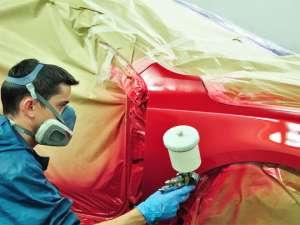 Покраска кузова автомобиля от 1000 руб. за деталь